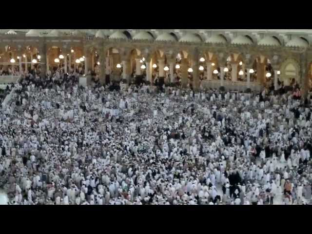 Azan/Athan in Al Masjid Al Haram, Makkah Mecca Saudi Arabia Travel Video