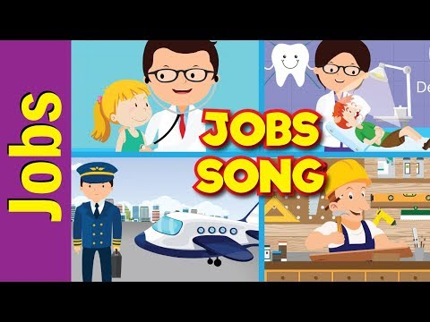 Jobs Song for Kids | What Do You Do? | Occupations | Kinderg