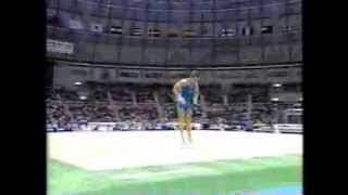 Yuri Chechi (ITA) FX 1995 Sabae Worlds AA Final