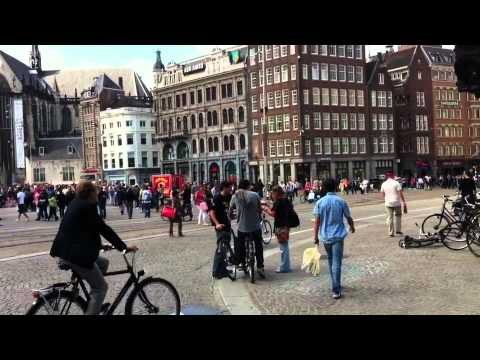 Amsterdam : Dam Square, Royal Palace