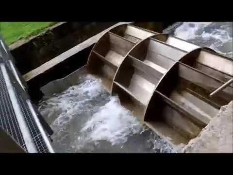 Production d'électricité sur une petite chute d'eau