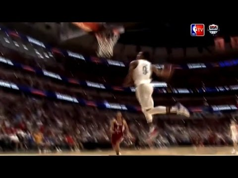DeMar DeRozan  Power Windmill Dunk  USA vs Venezuela Basketball