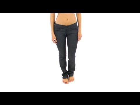 Volcom Women's Static Straight Jean | SwimOutlet.com