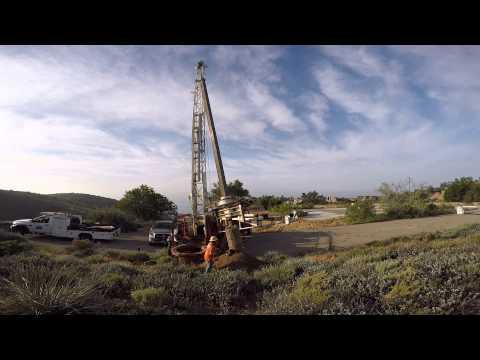 Ezbore bucket drill rig