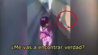 El perturbador video de una niña en un cementerio