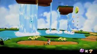 Super Mario Galaxy- Beach Bowl Galaxy- Secret Star