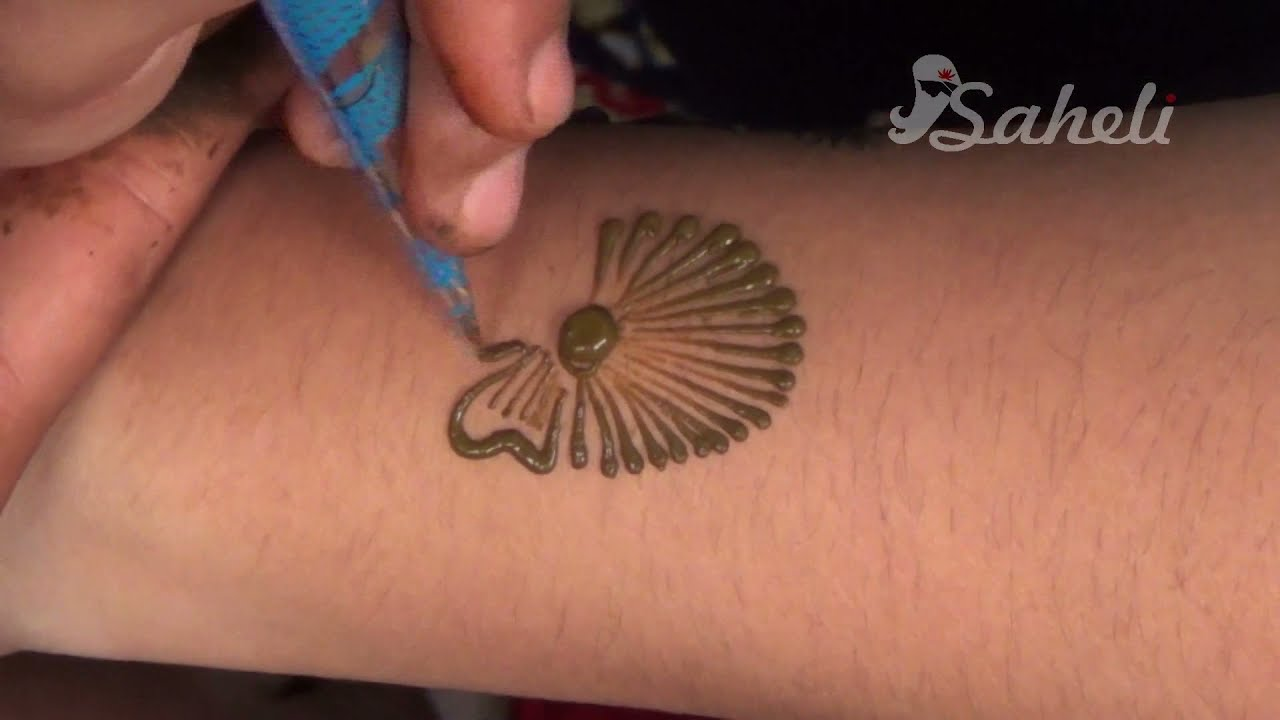 Henna Party Mehndi Kerucut Merah : Mehndi design youtube site com makedes