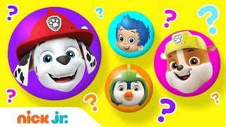 Mix-Up Machine Surprises ft. PAW Patrol's Chase & Marshall, Bubble Guppies' Gil & More! | Nick Jr.