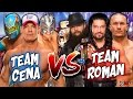 John Cena & Kalisto & Sin Cara vs. Roman Reigns & Bray Wyatt & Randy Orton - WWE RAW 2017