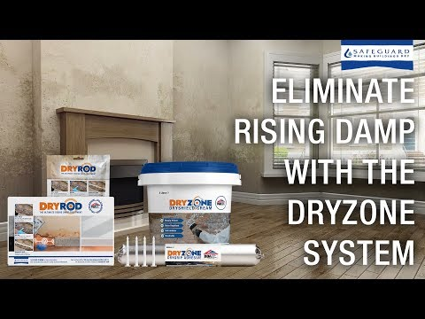 Eliminate Rising Damp with Dryrod & Dryzone Express Replastering - The Dryzone System