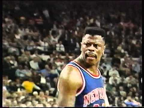 1990 - 1991 CHICAGO BULLS NBA PLAYOFFS 20TH YEAR ANNIVERSARY 1ST ROUND VS NY KNICKS - YouTube