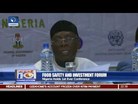 Nigeria Holds Maiden Food Safety & Investment Forum