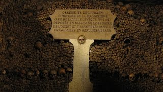 Страх в Парижских катакомбах Catacombes de Paris катакомбы