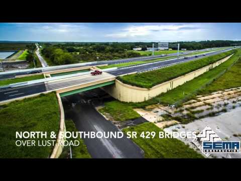 SEMA Construction, Inc. SR-429 Extension Project - Boy Scout Road to US 441 Orange County, Florida