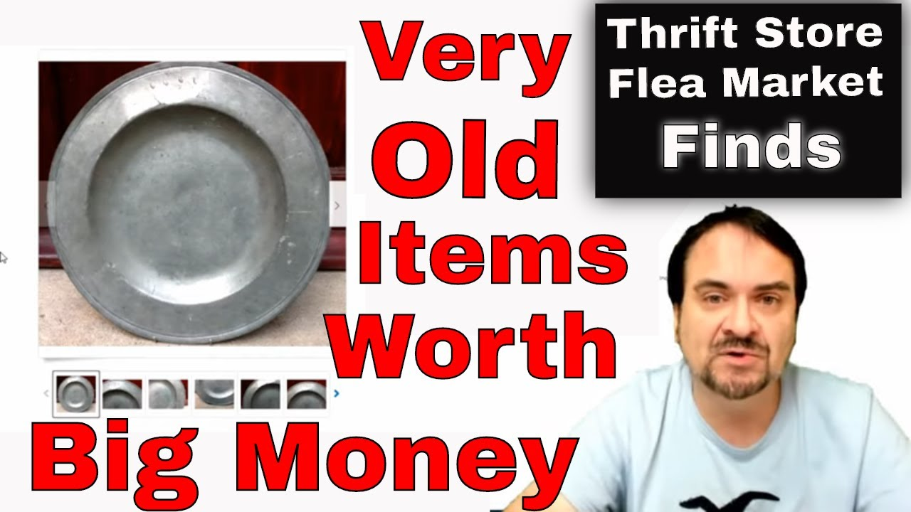 Very Old Used Items Worth Big Money Youtube