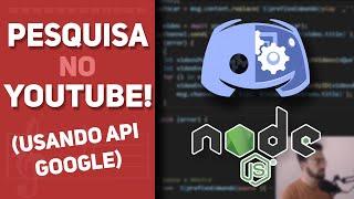 Como fazer seu bot pesquisar no YouTube? - Bot para Discord em Node.js (parte 3)