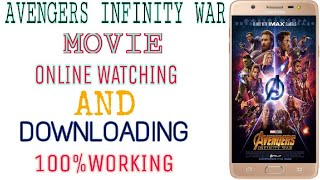 How to Download Avenger Infinity War in Hindi (Full HD) | Avenger Infinity War Download