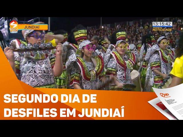 Segunda noite de desfiles em Jundiaí - TV SOROCABA/SBT