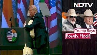 """PM Modi-Donald Trump's Big Show At """"Howdy, Modi!"""""""