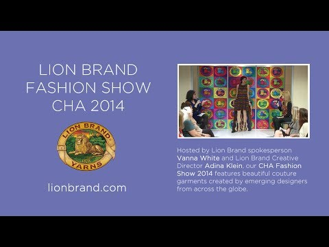 "Lion Brand's ""7 Wonders of the Yarn World"" Fashion Show 2014"