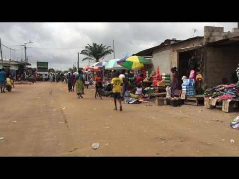Street scenes in Soyo, Angola