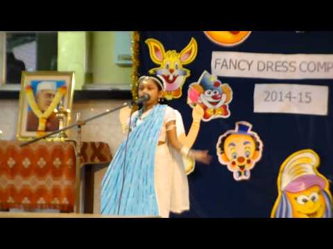 Fancy dress competition - GODDESS  GANGA (Sara Mhatre)