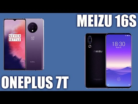 Oneplus 7T Vs Meizu 16S. 😎 Кто же победит ?