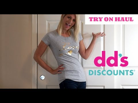 DDs Discounts Clothing Haul   Weight Loss Haul and Update!