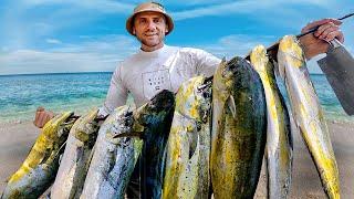 НОВЫИ РЕКОРД 51 КГ рыба Махи Махи Такого кле ва я еще не видел Подводная охота на острове 66