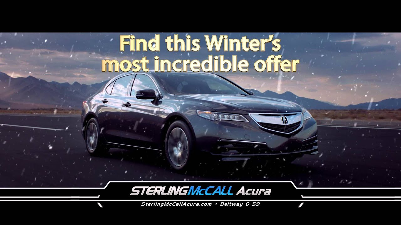 Sterling Mccall Acura >> Discover A Whole New Kind Of Thrill Sterling Mccall Acura