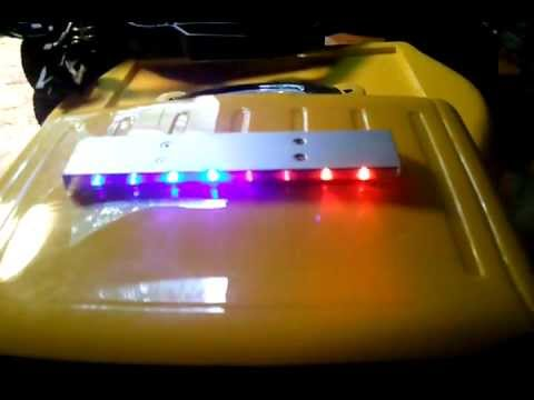 Exclusive led police light bar from hobbypartz youtube exclusive led police light bar from hobbypartz aloadofball Images