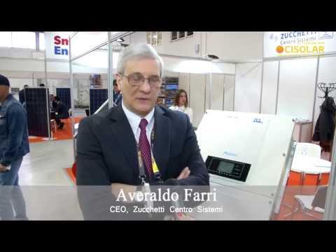 CISOLAR 2018: Averaldo Farri, Zucchetti Centro Sistemi: vision of the solar energy market in Ukraine