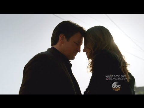 "Castle 8x22  Beckett & Castle Say I Love  You and Temporary Goodbye  ""Crossfire"" Series Finale"