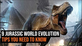 Jurassic World Evolution - 9 things you need to know before playing