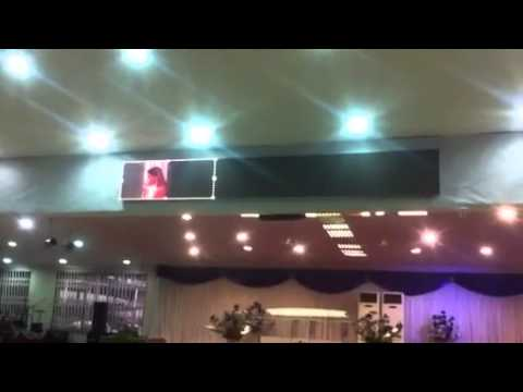 Winners chapel led display screens and Appa led, Outdoor  advertising electronics led light display