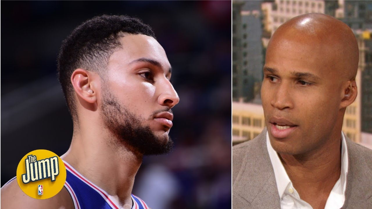 Ben Simmons' shoulder injury might be a big problem because of 1 move - Richard Jefferson   The Jump