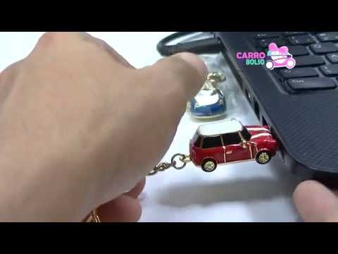Mini Cooper Usb Pen Drive Chaveiro