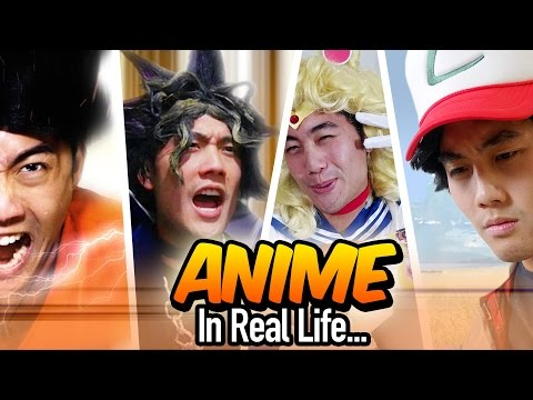 Anime in Real Life!
