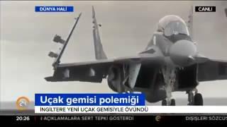İngiltere ve Rusya arasında Uçak Gemisi polemiği !