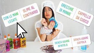 I MIEI FAN CONTROLLANO COME FACCIO LO SLIME! ESTREMO!! SLIME CHALLENGE DIVERTENTE!!!