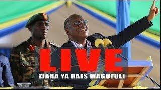 BREAKING: Tazama LIVE Rais Magufuli katika Mkutano wa hadhara Simiyu