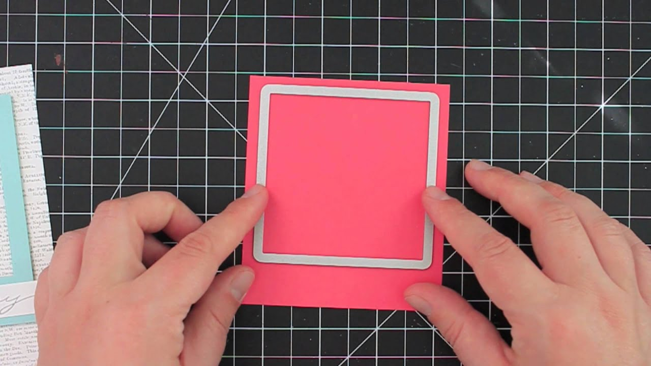 How to Make a Polaroid-Style Frame - featuring Stampin\' Up ...