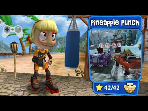 Beach Buggy Racing - Pineapple Punch - Full Gameplay - All Stars!!!
