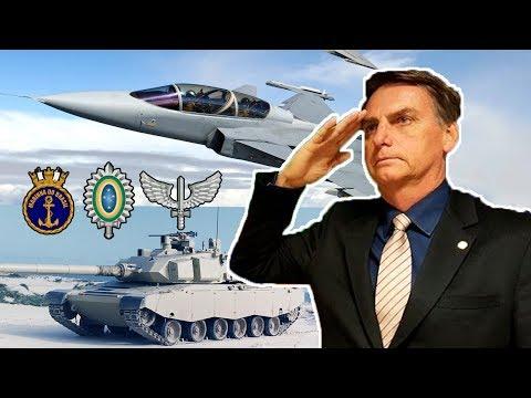 O que Bolsonaro pode Fazer pelas Forças Armadas ?