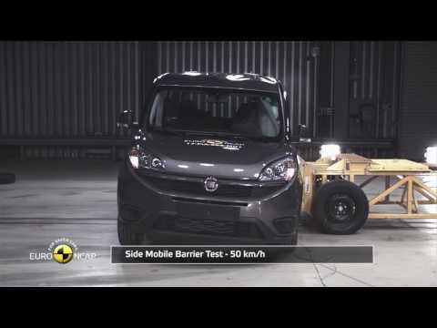 Euro NCAP Crash Test of Fiat Doblò