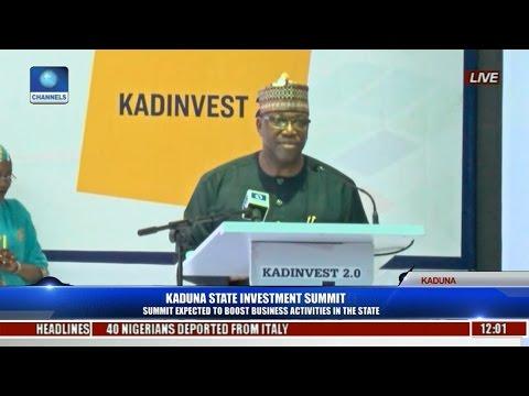 John Momoh's Speech At 2017 Kaduna State Investment Summit