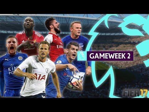 FIFA 17 Premier League 2017/18 - Gameweek 2 Highlights