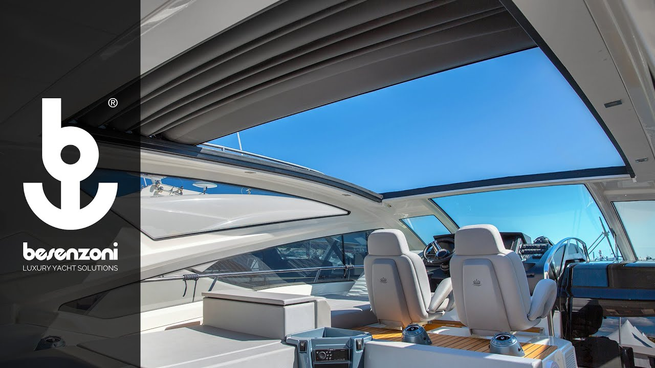 Soft Top for Yacht and Superyacht- Besenzoni