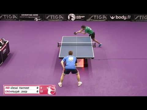 Harmeet Desai Vs Josip Huzjak (Challenger Series January 6th 2020 Group Match)