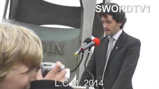 Inauguration de la statue de Lord Lovat : les discours